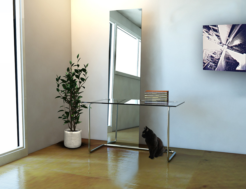 Lokodesigner hydra specchio consolle - Carpa a specchio ...