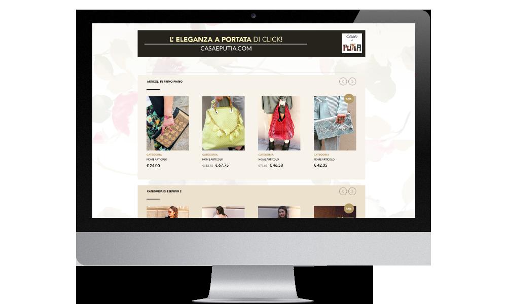 sito web casa e putia